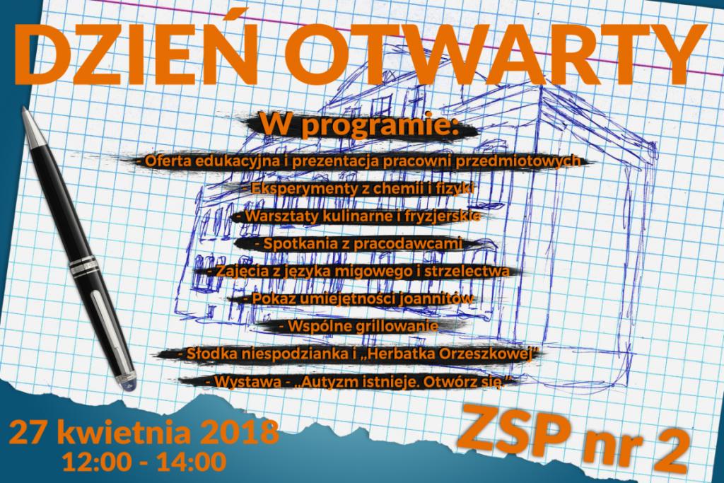 Pomysł i wykonanie plakatu: Daniel Sulbiński, kl. III TOR